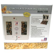Circulated Air Incubator in White