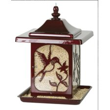 Jolly Pop Hummingbird Design Decorative Bird Feeder