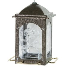 Meadow Rose Decorative Bird Feeder