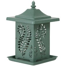 The Fern Vein Decorative Bird Feeder