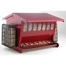 Seeds N More Suet Cake Hopper Bird Feeder