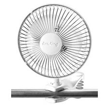"6"" Air King Clip on Table Fan"