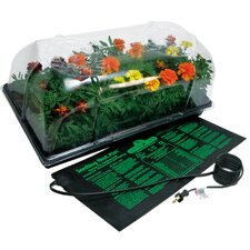 72 Cell Pack Dome Hot House with Heat Mat and Tray