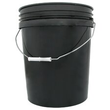 <strong>Hydrofarm</strong> 5 Gallon Black Bucket
