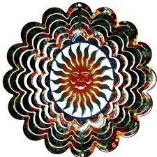 Eycatcher Kaleidoscope Sun Face Wind Spinner