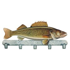 Walleye Coat Rack