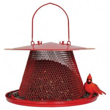 Cardinal Caged Bird Feeder