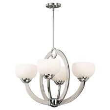 <strong>Kenroy Home</strong> Nova 4 Light Chandelier