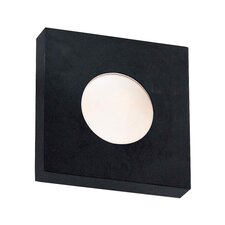 Burst Small Square 1 Light Wall Fixture/Flush Mount