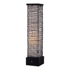 "Trellis 30"" H Table Lamp with Square Shade"