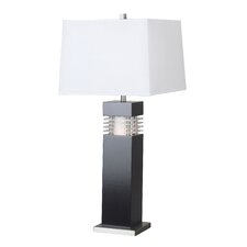 "Brunswick 32"" Table Lamp with Rectangle Shade"