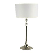 """Luella 30"""" H Table Lamp with Drum Shade"""