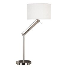 "Hydra 35"" H Table Lamp with Drum Shade"