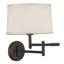Theta Swing Arm Wall Lamp