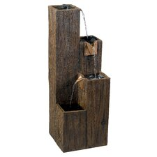 <strong>Kenroy Home</strong> Timber Indoor/Outdoor Floor Fountain