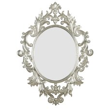 <strong>Kenroy Home</strong> Louis Wall Mirror in Silver Leaf