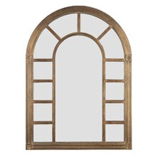 Cathedral Wall Mirror in Bronze