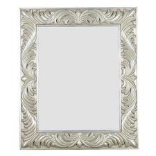 "Antoinette 38"" H x 32"" W Rectangular Wall Mirror"