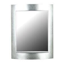 <strong>Kenroy Home</strong> Sacramento Wall Mirror in Silver