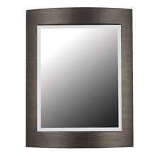 Folsom Wall Mirror in Brushed Bronze