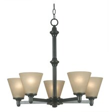 Tallow 5 Light Chandelier