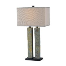 "Barre 30.38"" H Table Lamp with Rectangle Shade"