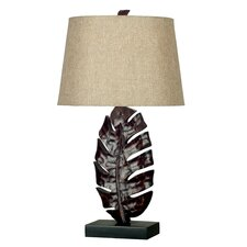 "Frond 26.25"" Table Lamp with Empire Shade"