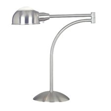 <strong>Kenroy Home</strong> Acadia 1 Light Swing Arm Table Lamp