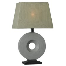 "Outdoor Rhodes 25.5"" H Table Lamp with Rectangle Shade"
