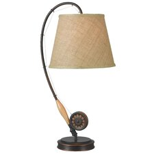 "Floory Rod 27.5"" H Table Lamp with Empire Shade"