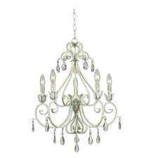 <strong>Kenroy Home</strong> Chamberlain 5 Light Chandelier
