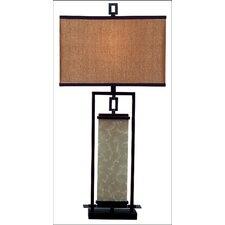 """Utah  32"""" H Table Lamp with Drum Shade"""