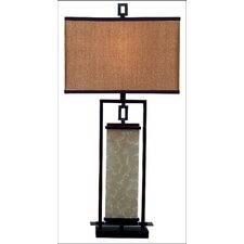 "Utah  32"" Table Lamp with Drum Shade"