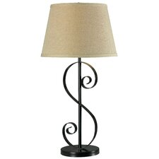 """Galaxy 30"""" H Table Lamp with Drum Shade"""