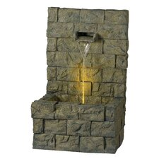 Garden 1 Light Wall Outdoor Floor Fountain