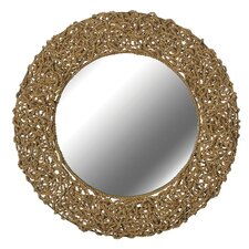 "33"" H x 33"" W Seagrass Wall Mirror"