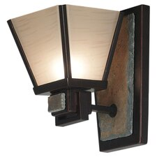 <strong>Kenroy Home</strong> Clean Slate 1 Light Wall Sconce