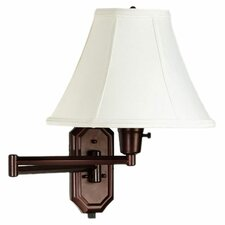 Clarus 1 Light Swing Arm Wall Sconce