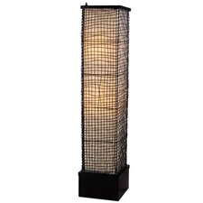 Trellis 1 Light Outdoor Floor Lamp