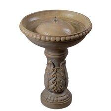 Acanthus Birdbath Fountain