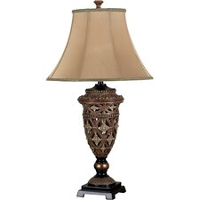 "Sophie 19"" H Table Lamp with Bell Shade"