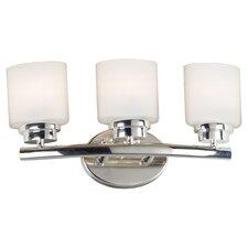 Bow 3 Light Vanity Light
