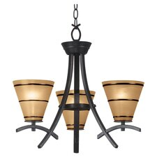 Wright 3 Light Chandelier