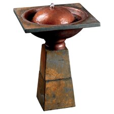 <strong>Kenroy Home</strong> Cauldron Birthbath Fountain