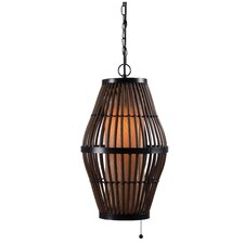 <strong>Kenroy Home</strong> Biscayne 1 Light Outdoor Pendant
