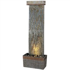 Wilton Natural Slate Vertical Floor Fountain
