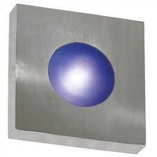 Burst 1 Light Outdoor Square Wall Sconce