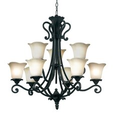 Coronation 9 Light Chandelier