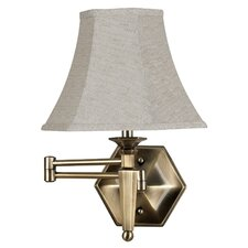 <strong>Kenroy Home</strong> Mackinley Swing Arm Wall Lamp
