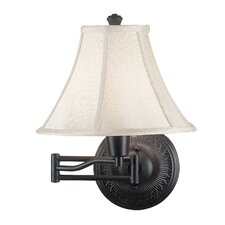 <strong>Kenroy Home</strong> Amherst Swing Arm Wall Lamp